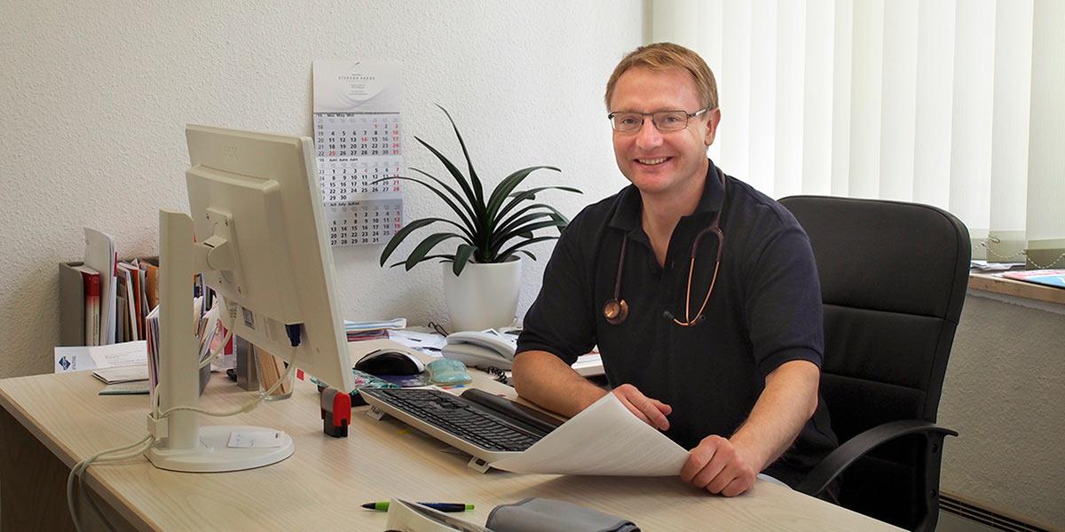 Bernhard Koch, Facharzt für Innere Medizin